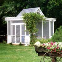 Summerhouse Garden Flat Pack Planning