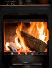 Log Burner Burning Stove Planning
